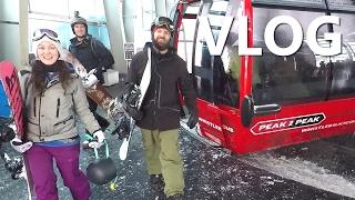 Vlog - Crash Story, Improving Turns & Girls Snowboard Review