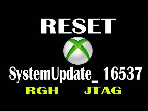 RESET- SystemUpdate-16537-XBOX360 (RGH/JTAG)