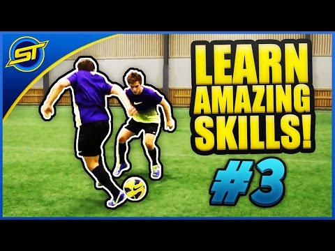Learn Amazing Football Skill Tutorial #3 turbo Cut ★ Hd - Neymar ronaldo messi Skills video