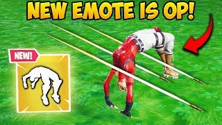 *NEW* SPRING LOADED EMOTE IS INSANE! - Fortnite Funny Fails and WTF Moments! #508