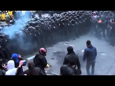 Revolution in Ukraine   Protest Against Police