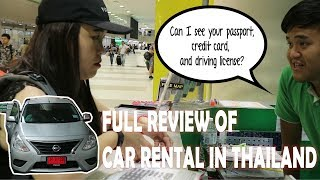 How to rent a car in Bangkok Thailand