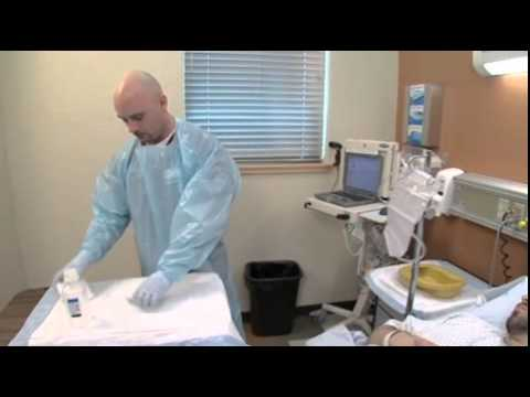 Male Patient Enema video