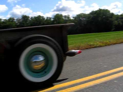 Rich Moody's 35 Ford  Rat Rod drive by