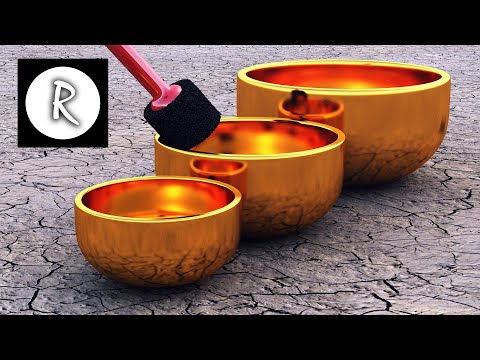 9 HOURS Tibetan Healing Sounds – Singing Bowls – Natural sounds Gold for Meditation & Relaxation