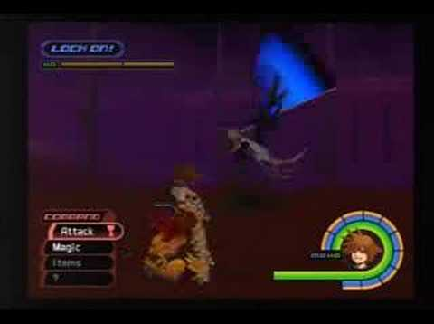 Kingdom Hearts I - Sephiroth (LV71, No Limit/Armor/Item) Video