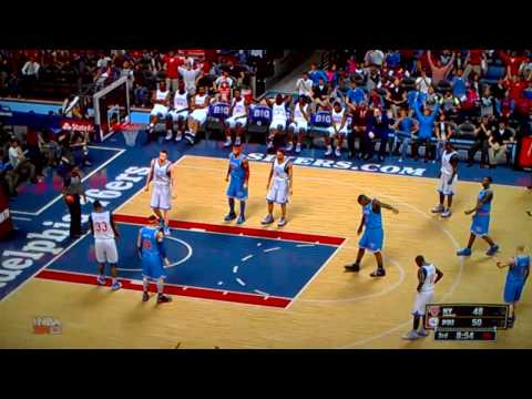 NBA 2K13: New York Knicks vs Philadelphia 76ers