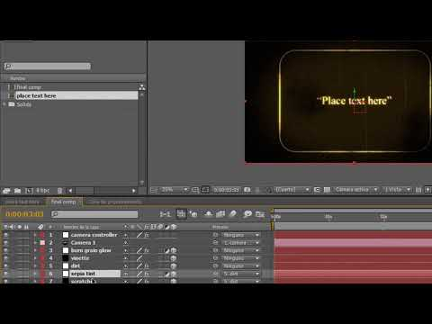 20 Intros editables para After Effects
