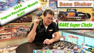 Hot Wheels Super Treasure Hunts with Super Chase Bone Shaker! | Hot Wheels