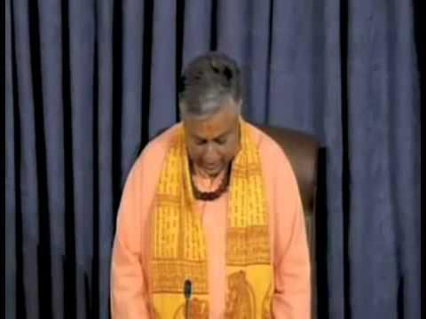 Rajan Zed speaks in US Senate