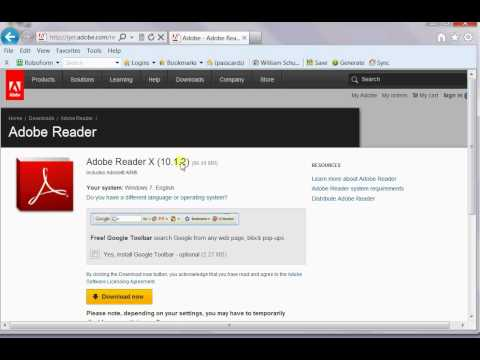Adobe Reader offline installer - Adobe Community