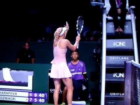 Seething Caroline Wozniacki