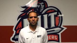 NJIT MSOC Post Game vs. CCSU