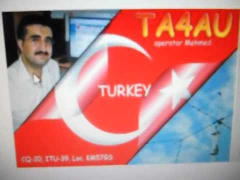 TA4AU- Mehmet Rasid-Isparta-TURKEY- 09:20 utc-  31-Mar-2013- 15 meters band