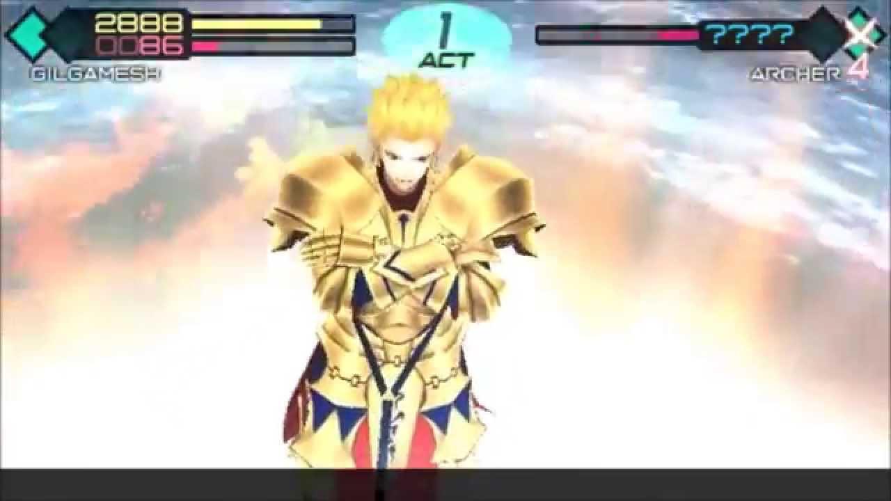 Fate/extra Ccc Gilgamesh