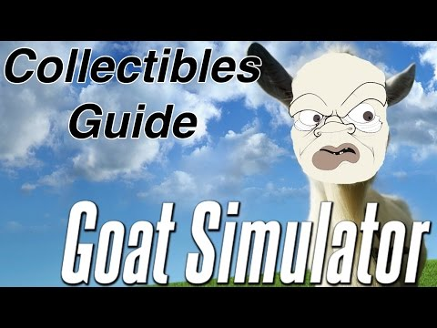 Goat Simulator - Try Hard & I Freaking Love Goats Achievement/Trophy 100% Collectibles Guide