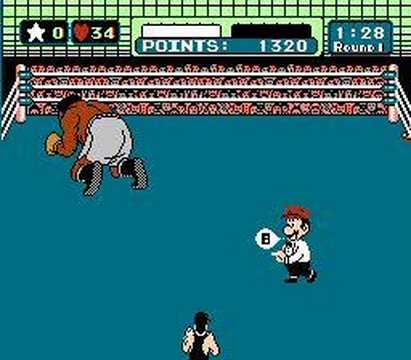 Punch-out Mr. Sandman TKO round 1