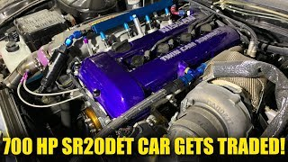 Dumb things Aaron does - Trading 700 hp SR20 S14 for new toy!