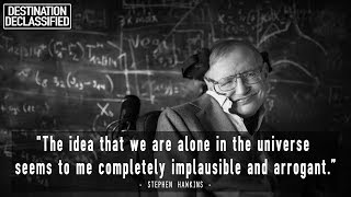 What Did Stephen Hawking Say About UFOs, Aliens & Life in the Universe?