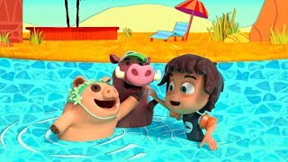 Kazoops! | Waterhole | Animal Pals | Top Songs for Children | Learning Through Music