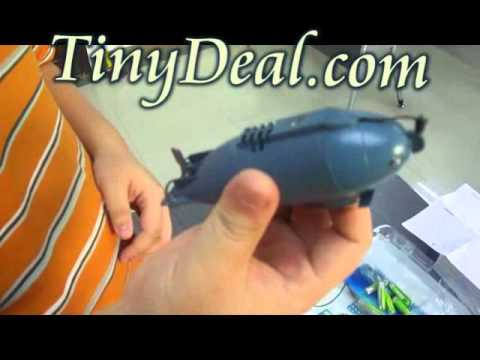 Mini Radio Remote Control Submarine