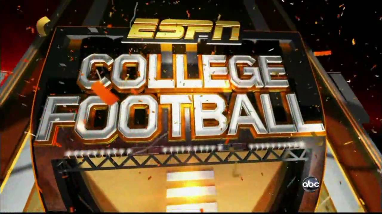 ESPN College Football on ABC Intro - YouTube