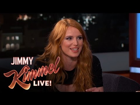 Bella Thorne on Woody Harrelson & Christian Bale