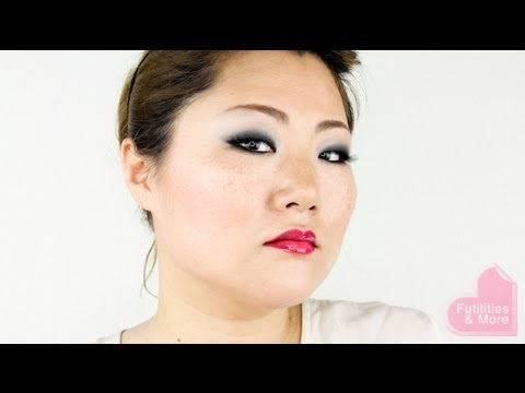 Easy black smokey eyes makeup tutorial for asian monolids