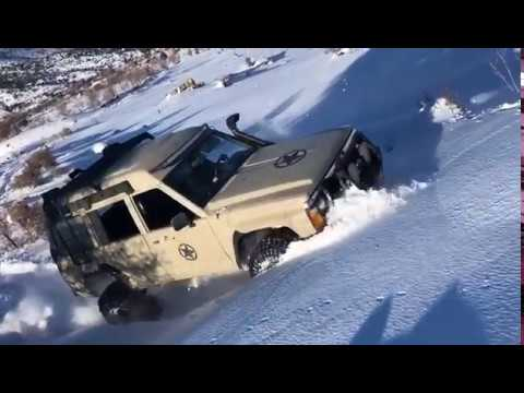 Nissan Patrol-Safari - Deep Snow Play