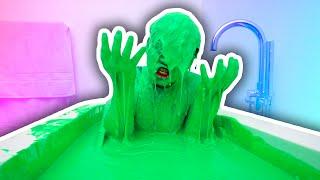 SLIME BATH CHALLENGE!