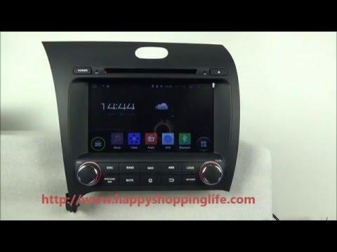 Kia Forte 2013-2014 Android Car DVD Player GPS Navigation Radio TV Wifi 3G