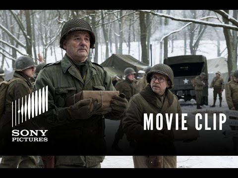 "Monuments Men - ""John Wayne"" Clip"