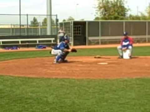 Jarrod Saltalamacchia catching drills Video