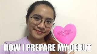 HOW I PREPARE MY DEBUT (Vlog) // Gezelyn Favorito