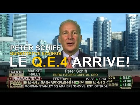 Peter Schiff : Le Q.E.4 arrive ! (Q.E.4 is coming),