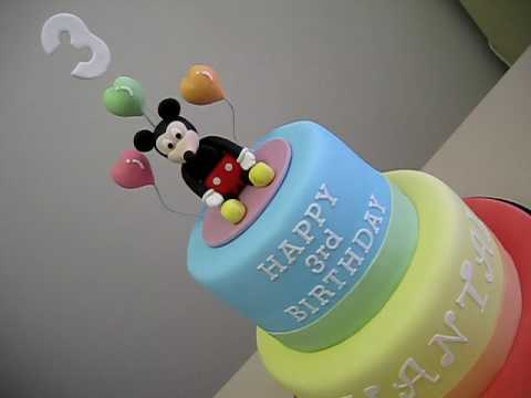 Click Visit Mickey Mouse Birthday Cake Page