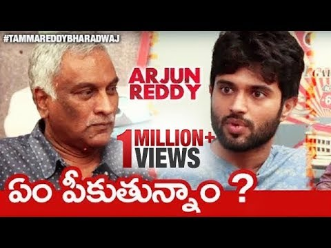 Allu Arjun was the 1st Choice for Arjun Reddy Movie : Sandeep Vanga | Tammareddy F2F Interview Promo