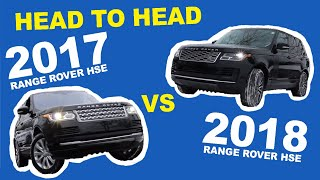2017 Range Rover and The 2018 Range Rover