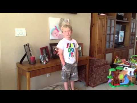 Cj Sings my Florida Alphabet video