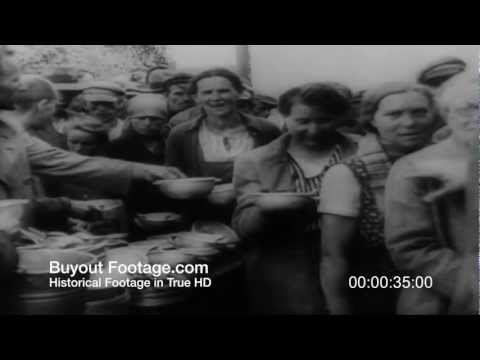 HD Stock Footage WWII Polish Refugees In Iran Fight For Freedom 1943 Newsreel