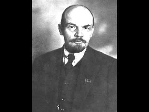 Запись голоса Владимира Ильича Ленина