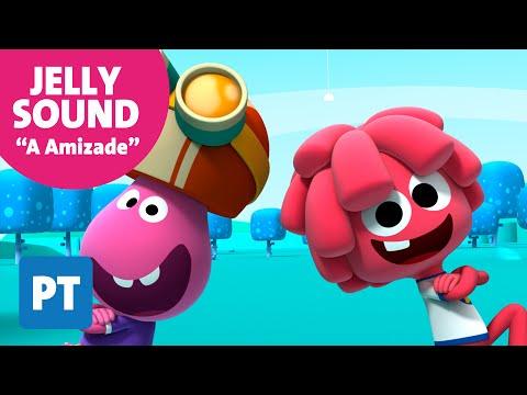 """Jelly Jamm. """"A Amizade"""" Cançoes em português - Musica para crianças"""