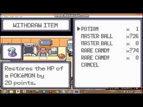 Cheat codes for vba pokemon Emerald