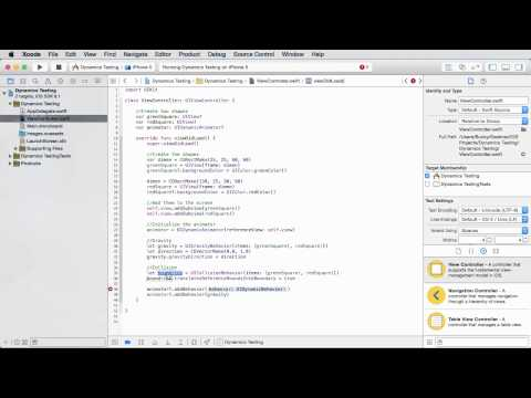 iOS Development with Swift Tutorial - 30 - Collision Detection