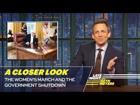 The Women's March and the Government Shutdown: A Closer Look