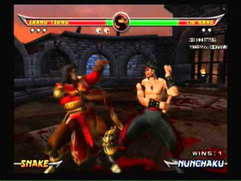 Mortal kombat shang tsung vs liu kang - photo#17