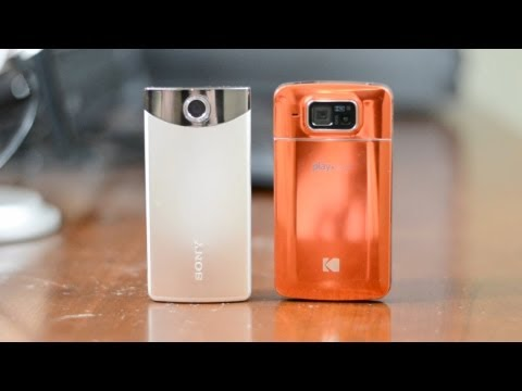 Best YouTube Camcorder? Kodak PlayTouch vs Sony Bloggie Touch