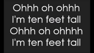Afrojack - Ten Feet Tall (Lyrics)