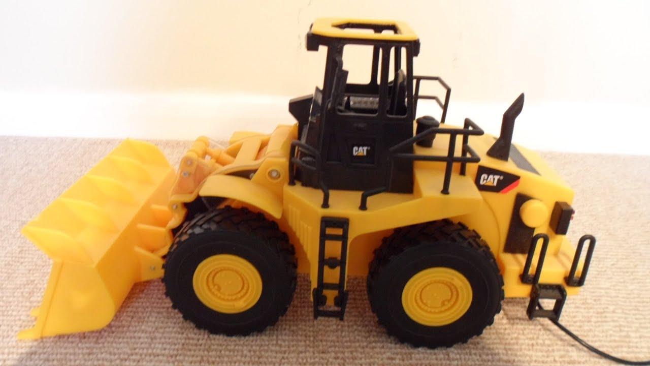 amazing rc caterpillar tonka toys truck motorized earth. Black Bedroom Furniture Sets. Home Design Ideas