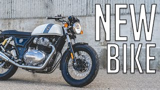 NEW BIKE REVEAL!! 2019 Royal Enfield Continental GT 650